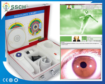 Equipamento médico da câmera de Iridology do olho do megapixel de USB Iriscope 500 do certificado do CE do analisador